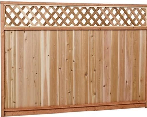 WANTED: 1 6x8 cedar fence  panel in decent shape