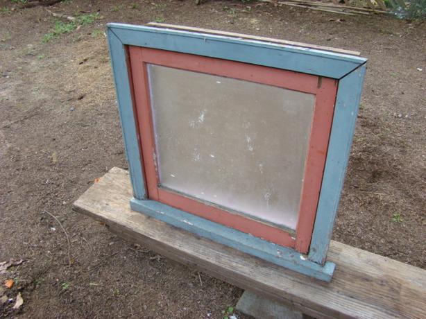 Vintage Wood Frame Window