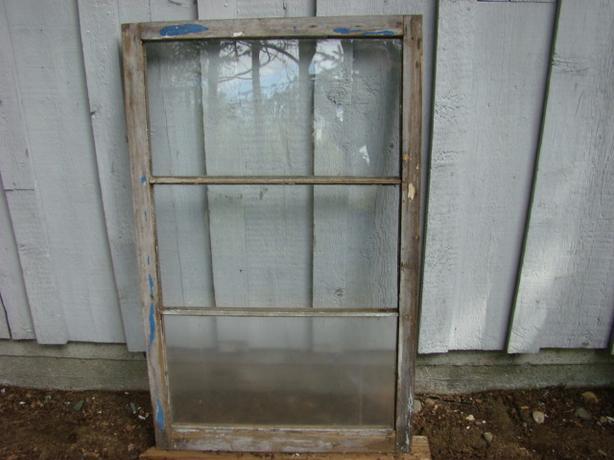Vintage Three Pane Window