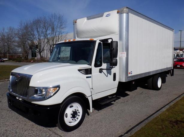 2014 International TerraStar Cube Van Diesel 18 foot With Power Tail Gate