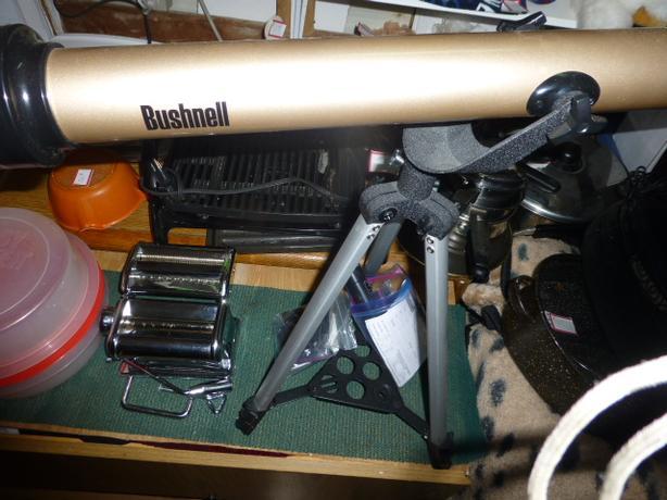 bushnell telescope complete like new
