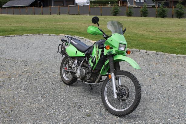 2005 Kawasaki KLR650 - Low KM
