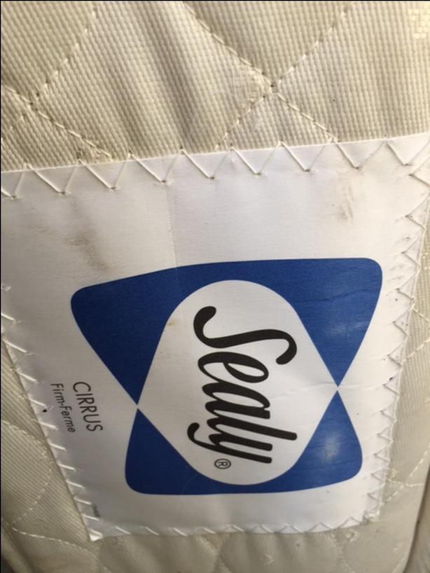 Clean Sealy Twin Mattress