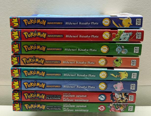 Manga Pokemon Adventure 1 2 3 5 6 7 9 Viz Graphic Novel Series