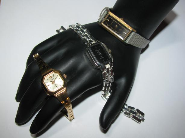Ladies Cardinal Quartz Wristwatch 3 Styles Mixed Not Running Estate Find
