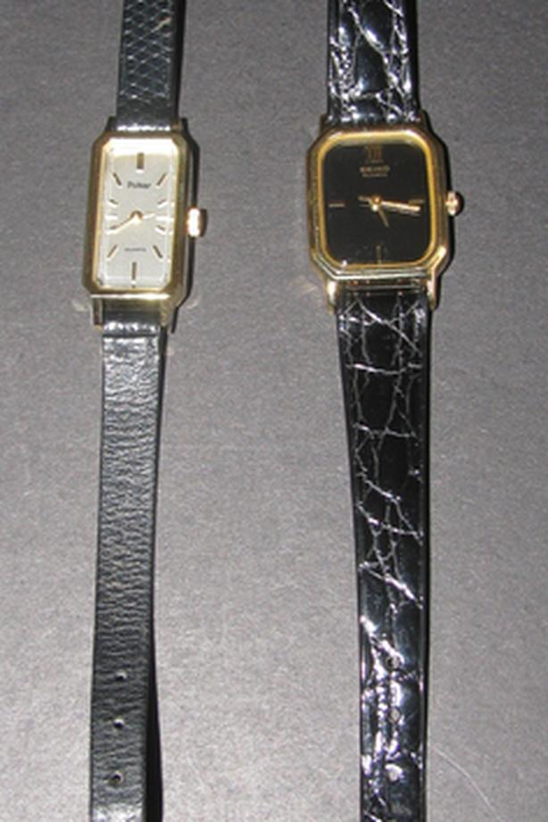 Vintage Ladies Pulsar 360517 Seiko 533215 Quartz Watch 2 Lot Mixed