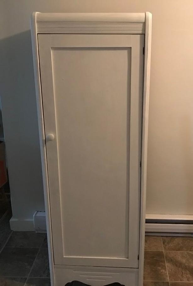 Small wooden wardrobe