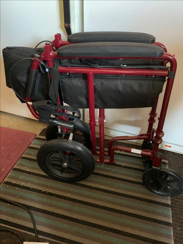 Medline Transport Wheelchair - Large Frame