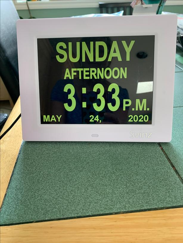 Clock for Alzhimers