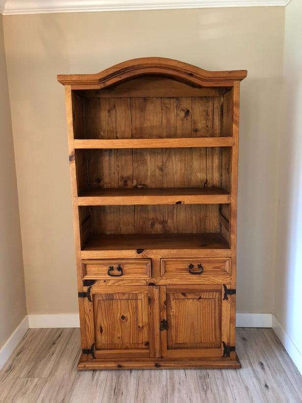 Rustic Sante Fe Solid Pine Cabinet