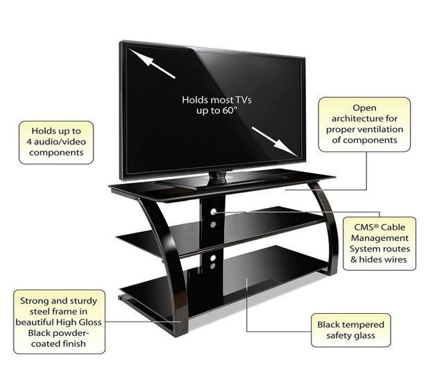 Widescreen TV stand
