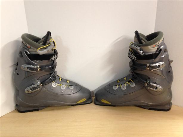 Ski Boots Mondo Size 32.5 Men's Size 15.5 380 mm Salomon Verse Grey