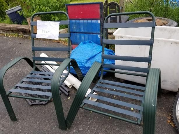 FREE: outside chairs