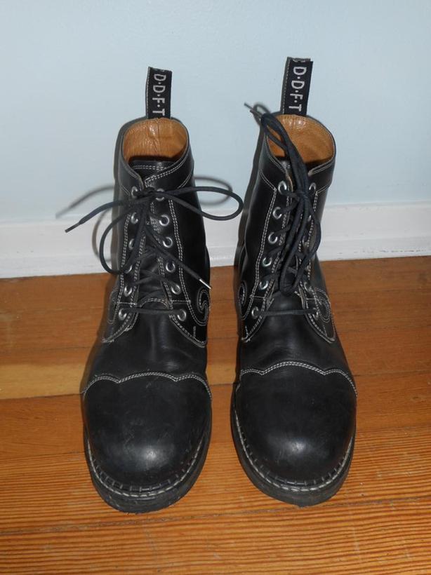 PENDING - Vintage John Fluevog Boots Size 10.5