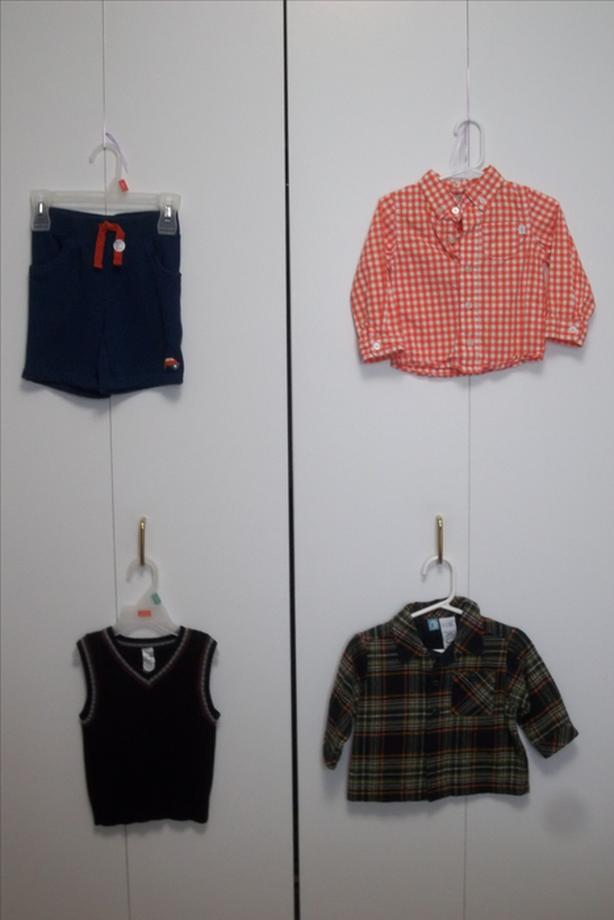 FOR ALL! 4 PIECES CLOTHING FOR LITTLE BABY FROM 12 TO MONTHS.24