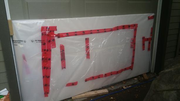 Free 4 full sheets of Drywall Ultralight type