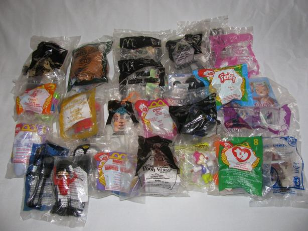 Collectible McDonalds Happy Meal Toys Factory Sealed Mixed Lot 25PC 1993+