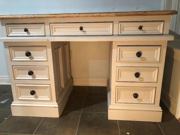 2 solid pine desks $200 each