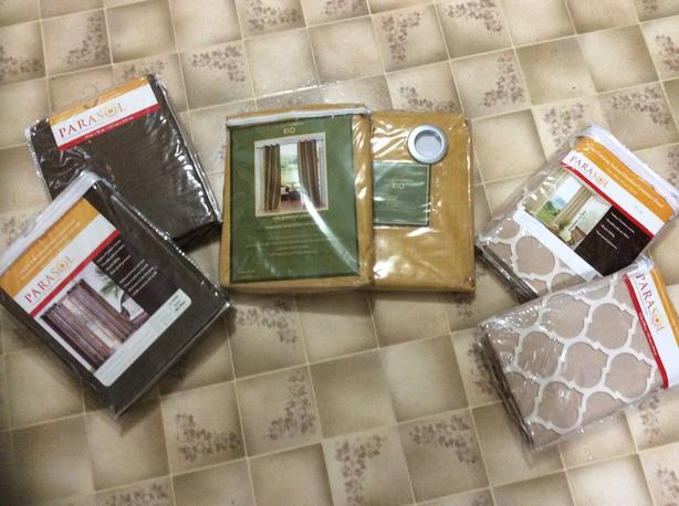 Moving sale!  Indoor/outdoor curtains