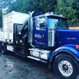 Crane truck delivery's