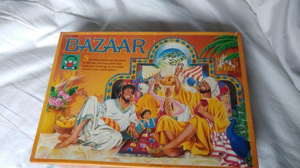 Bazaar discovery kids board game