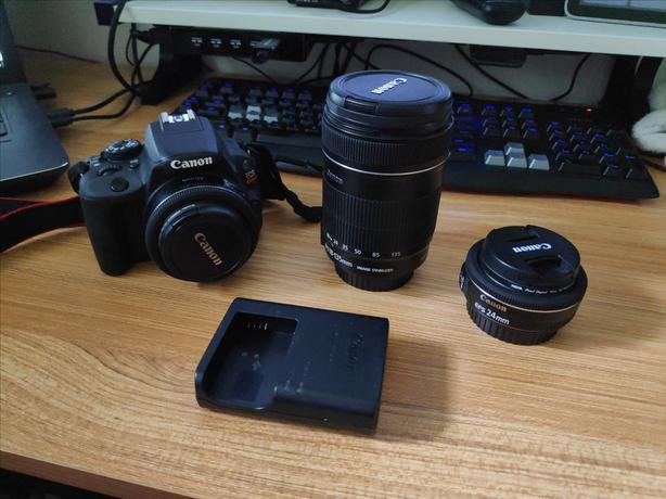 Canon SL1 plus Lenses