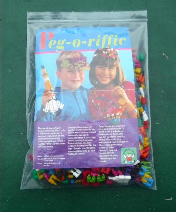 Discovery Toys Peg-o-riffic Set