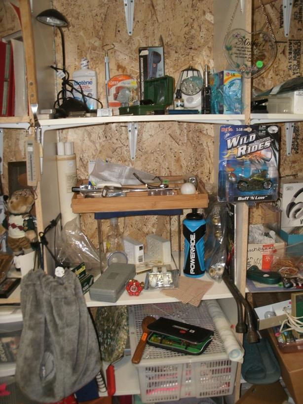 Old Tools, Garden Stuff etc