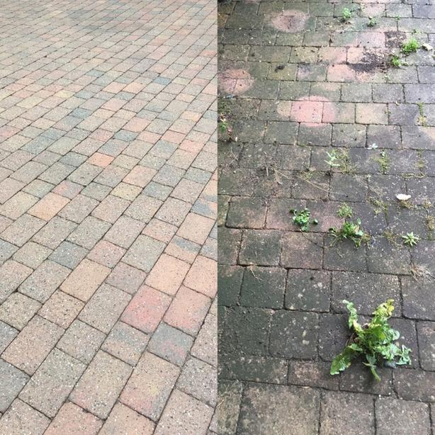 **Driveway Cleaning** power washing services