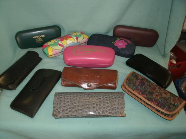 Assorted Eyeglass Cases
