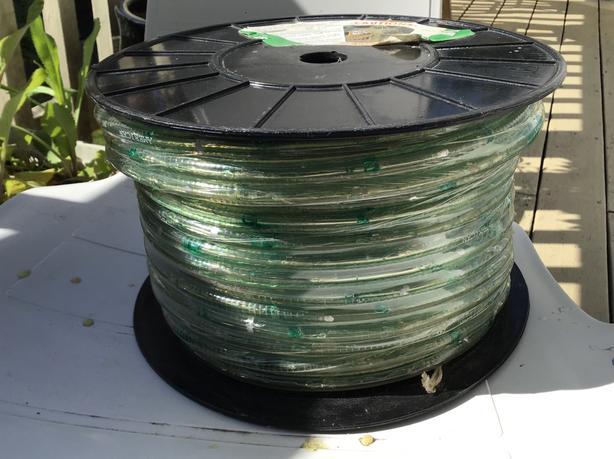 150 ft Rope lighting, 24v, green