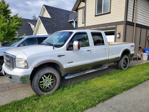 Used 2006 Ford F-350 6.0L Turbo Diesel King Ranch Pickup