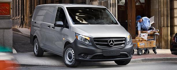 Mercedes Metris van