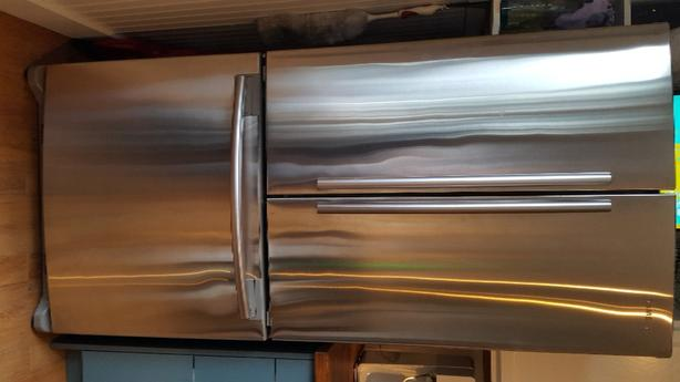 FREE: French door fridge