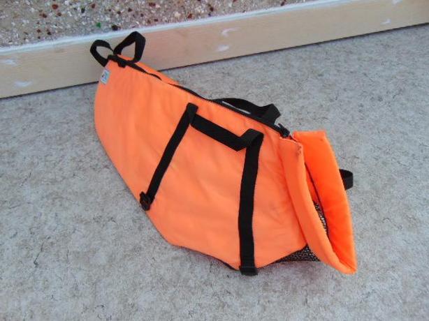 Dog Life Jacket Fido Orange X Large 90-120 lb Excellent