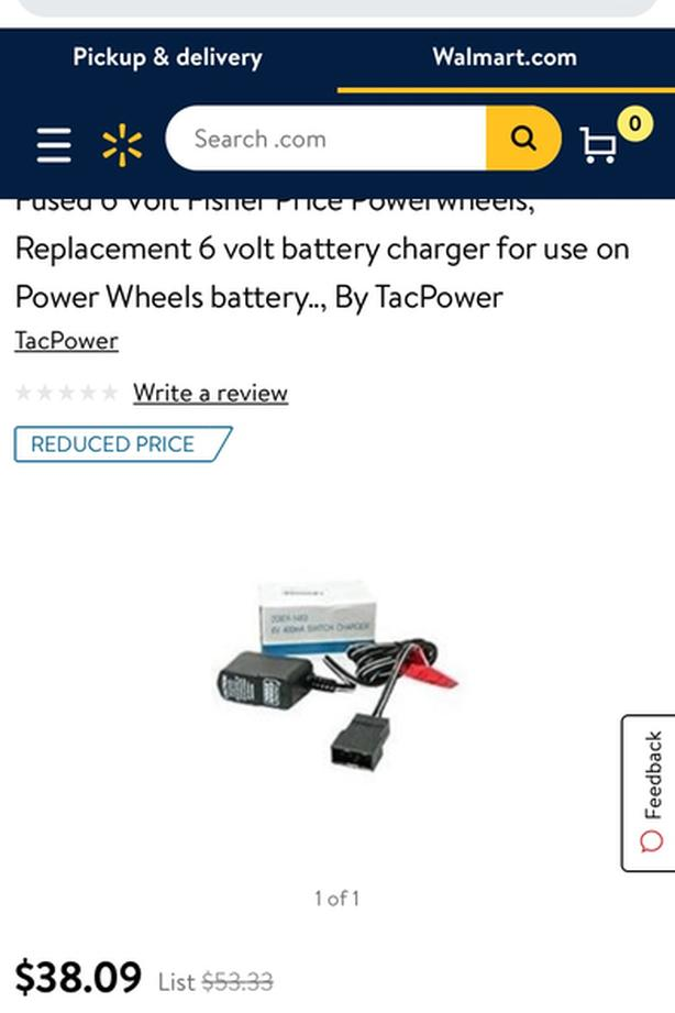 Re: Charger 6 v