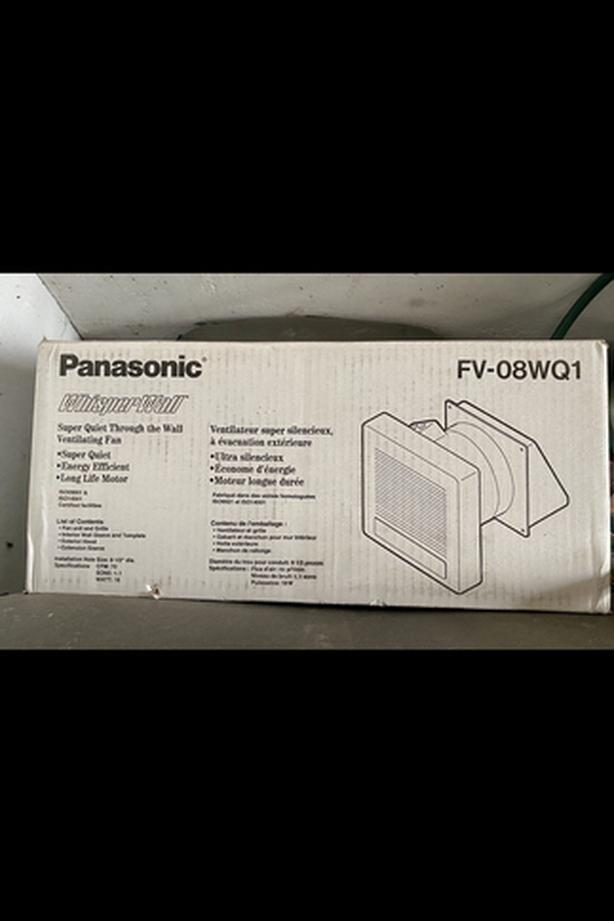 Panasonic wall ventilating fan