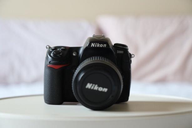Nikon d300 with lenses
