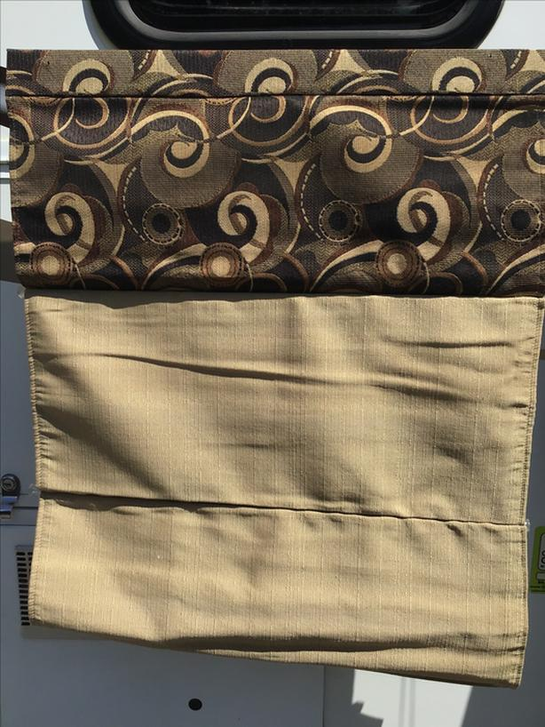 FREE: Window curtains  for RV