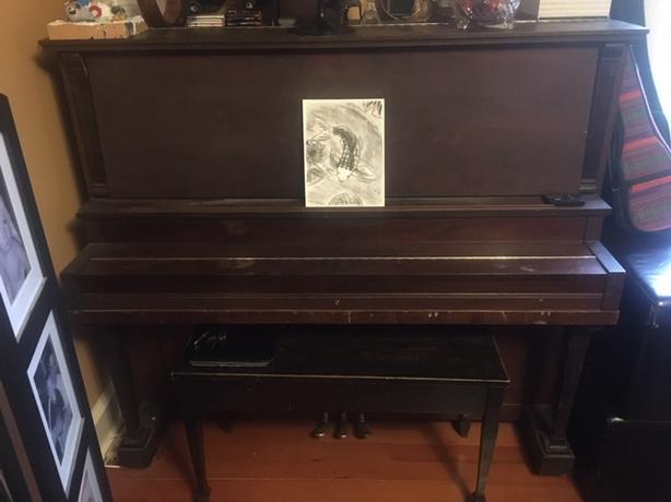 Beautiful 1900 Mason & Risch piano - FREE