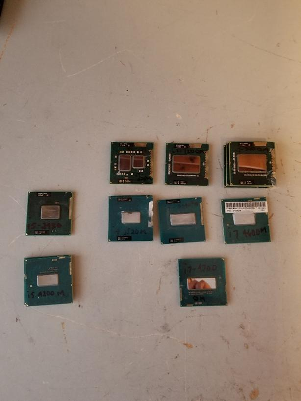 Intel i5 and i7 CPU's