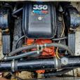 2650 BAYLINER SARATOGA W/TRAILER, LOW HRS MOTOR & LEG