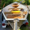 15' by 7' McKenzie Style Welded Aluminum Driftboat