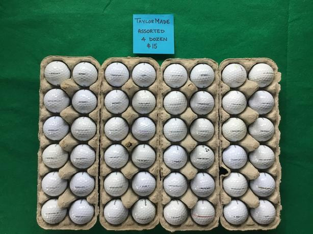 Excellent Used TaylorMade Golf Balls