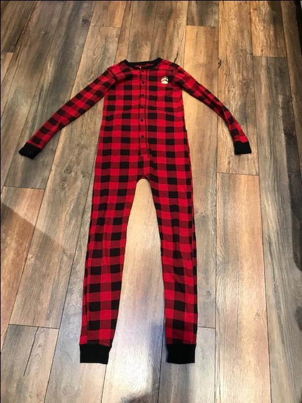 Onesie Flapjack Pajama - Lazy One: size 12