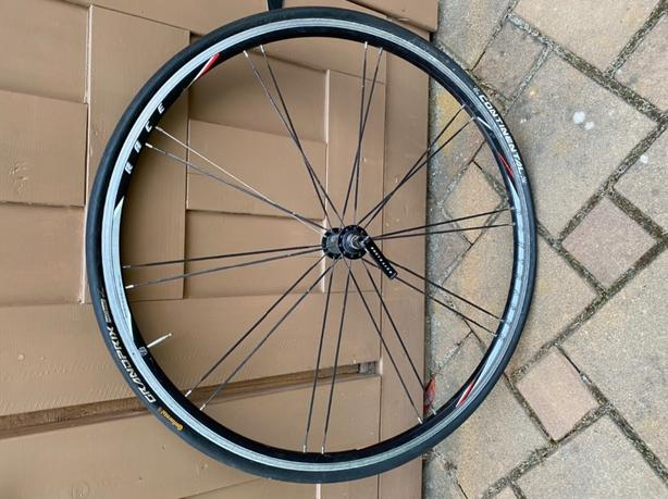 bontrager Race Lite front road bike wheel