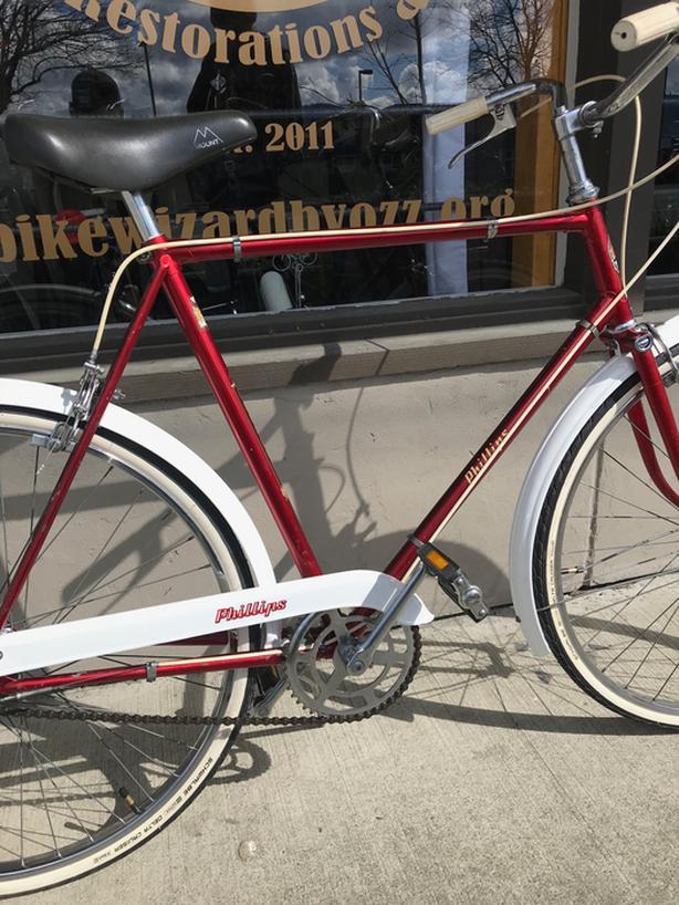 Vintage 1956 Phillips 3 Speed