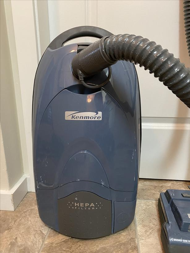 **SALE PENDING** KENMORE Power-Mate 12amp Canister Vacuum with HEPA Filter