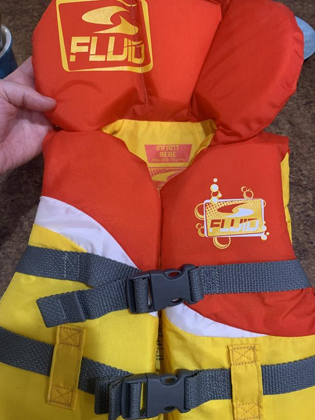 Infant life jacket - 20 to 30 Lbs