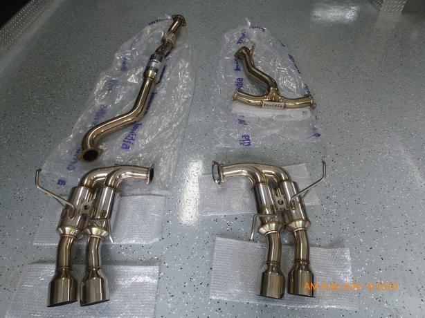 SUBARU EXHAUST........ INVIDIA R400 CATBACK FULL STAINLESS EXHAUST